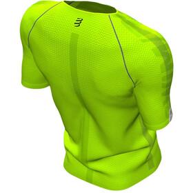 Compressport Training SS Tshirt Born To SwimBikeRun 2020 Men lime